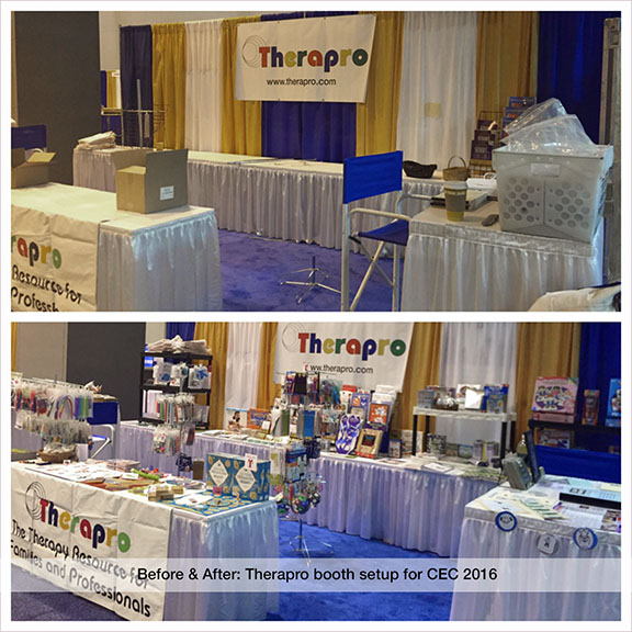 Therapro Booth